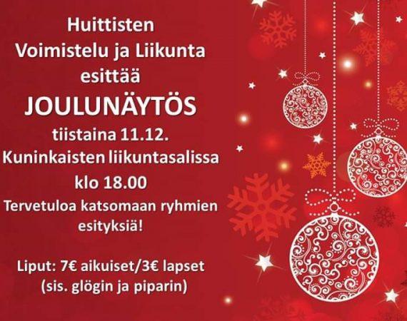 Joulunäytös 11.12.