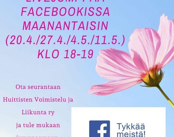 Facebook live -jumpat